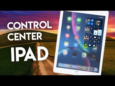iOS 12 Control Center iPad - How to Use Control Center on iPad