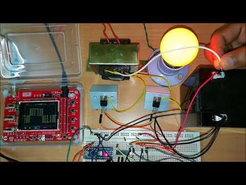Arduino Sinewave Inverter Circuit