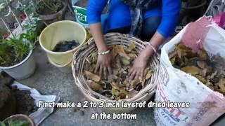 आसानी से केचुवे वाली खाद किचन वेस्ट से बनाये  - DIY How to do Vermicomposting at Home
