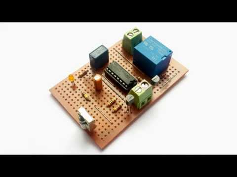 IR REMOTE CONTROLLED SWITCH