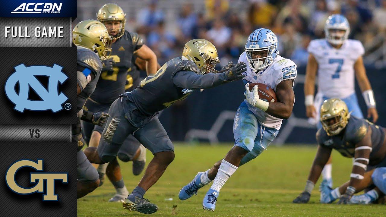 North Carolina vs. Georgia Tech Full Game | 2019 ACC Football