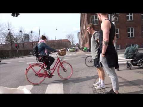 Copenhagen Bike Riding - from Vesterbro to Sluseholmen