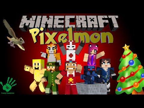 Minecraft: HOHOHO Merry Christmas!!!! - NF Family Pixelmon Server (Pokemon Mod)
