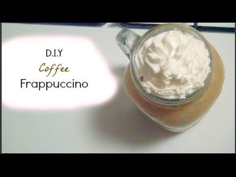 DIY Coffee Frappuccino