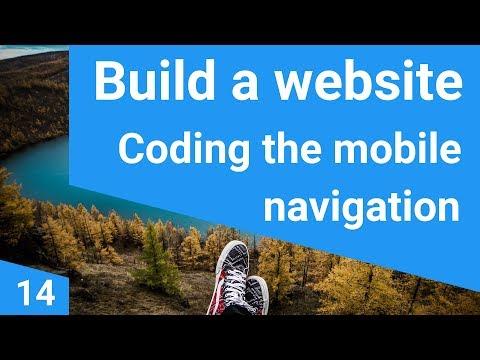 Build a responsive website tutorial 14  - The mobile menu
