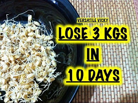 How to Lose Weight Fast 3Kg in 10 Days with Wheat Sprouts / How to make Wheat Sprouts