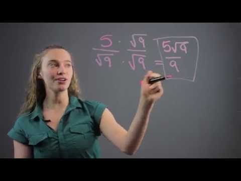 How to Simplify Radical Expressions by Rationalizing the Denominator