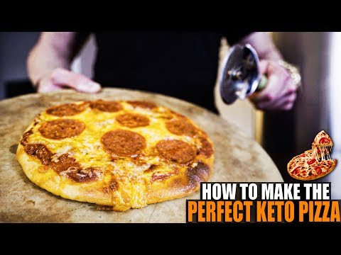How To Make Keto Pizza | Six Ingredient Fathead Method | Low Carb & Keto Diet Macro Profile