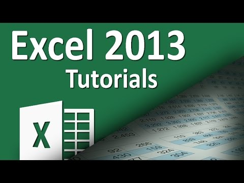 Excel 2013 - Tutorial 27 - Graphs - Area Charts