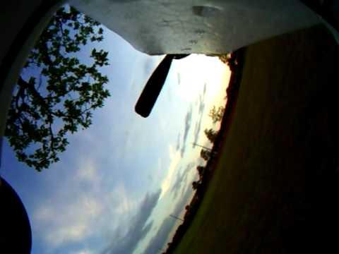 HobbyZone Super Cub DSM with GoPro Hero. Wreckless Flying
