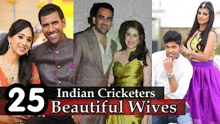 Indian Cricketers Wife - 25 Beautiful Wives Of Indian Cricketers | Indian Cricketers Wives |