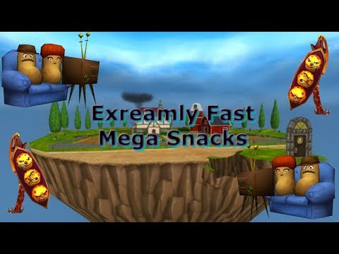 How to Triple Stack and get A LOT of Mega Snacks! | Wizard101