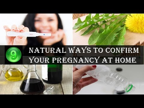 9 Natural Ways to Test Your Pregnancy