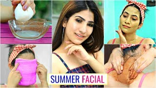 "Honest ""SUMMER FACIAL"" Skin Routine .. | #SunTan #DeTan #Skincare  #Anaysa"