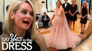 Will the Conservative Mother in Law Like the Pink Wedding Dress?   Say Yes To The Dress Atlanta