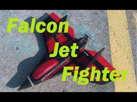 Falcon Jet Fighter - Build and Maiden Flight