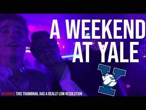A Typical Weekend at Yale University // VLOG #8
