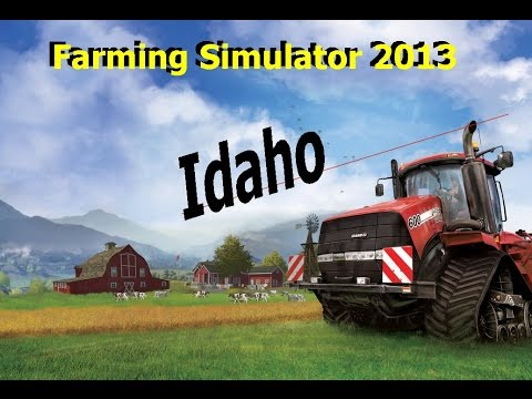 Farming Simulator 2013 Idaho Map EP 43 Cattle, sheep and pigs oh my