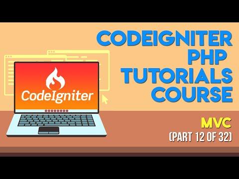 Codeigniter PHP Tutorials in Urdu/Hindi Part 12 MVC