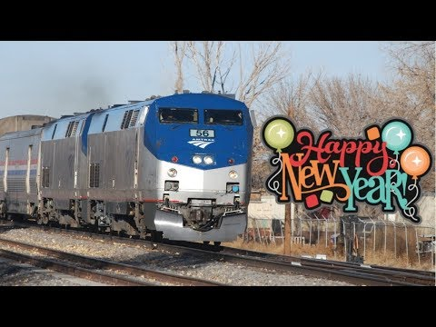 New Years Day 2018 Special: Amtrak Southwest Chief Chase (Feat. Semaphores, Wig-Wag, & #822)