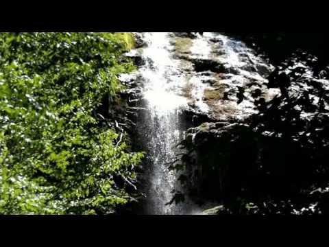 Mingo Falls Cherokee Territory North Carolina near Great Smoky Mountains