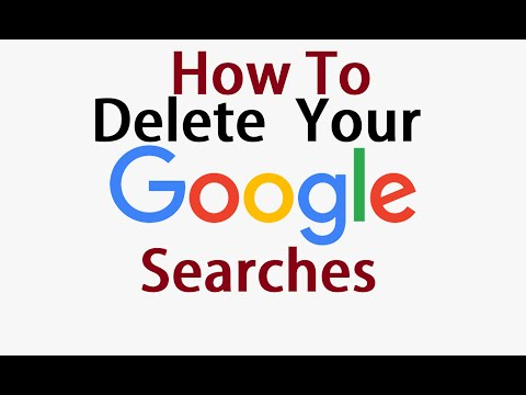 How to Delete Your Google Searches 2016