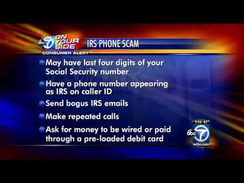 IRS scam: Watch out for threatening phone calls