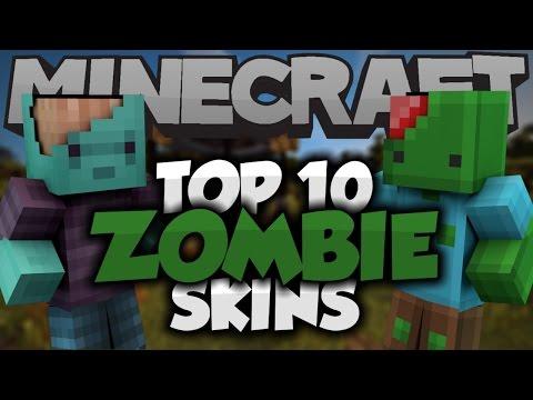 Top 10 Minecraft Zombie SKINS! - Best Minecraft Skins
