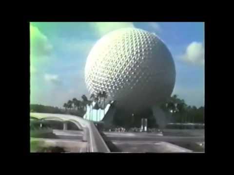 Epcot monorail 1987