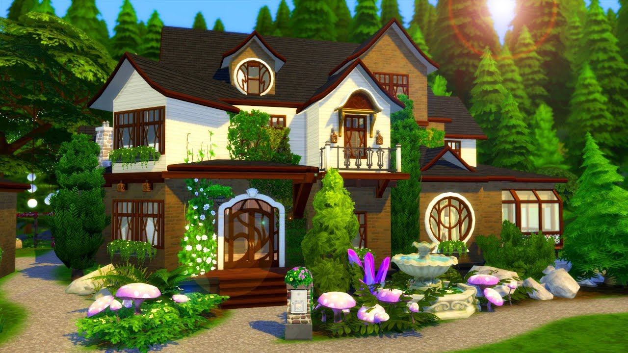🧙♀️✨ SPELLCASTER'S FAMILY HOME // Sims 4 Speed Build