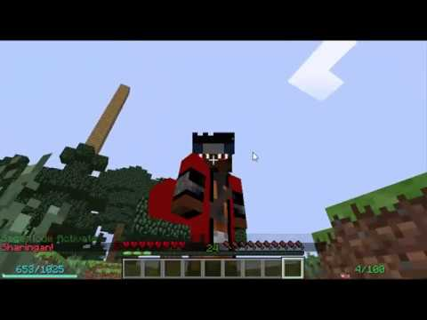 Minecraft l Naruto Anime Mod l How to get Sage Mode