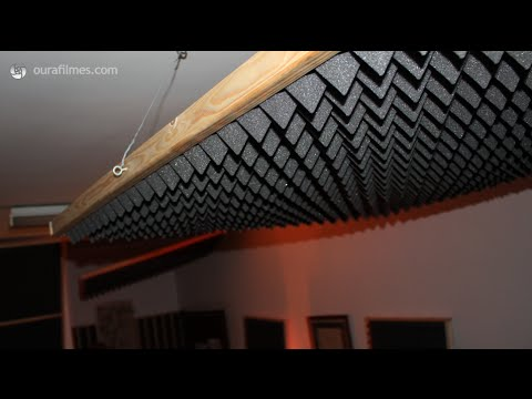 How to build cheap acoustic panels and bass traps
