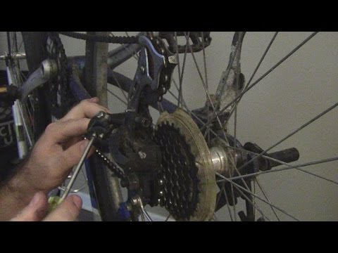 How to Replace and Adjust the Rear Derailleur/Shifter Cable on a Bicycle