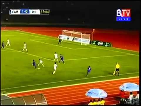U16 philippines vs cambodia(0-1) , Highlight