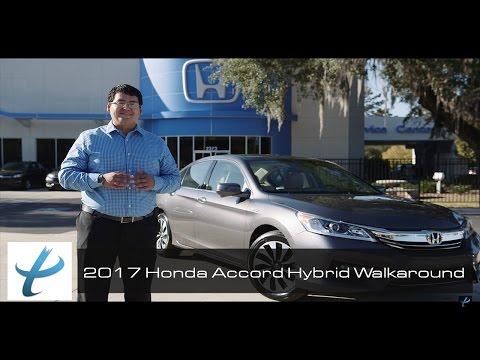 2017 Honda Accord Hybrid Full Walkaround and Review (NEW)