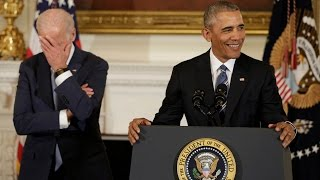 Obama surprises VP, Joe Biden with Presidential Medal of Freedom
