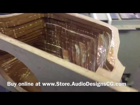 Honda Civic custom subwoofer box 2011-2015