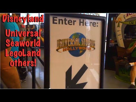 How to get to Universal from Disneyland (Gray Line Bus)