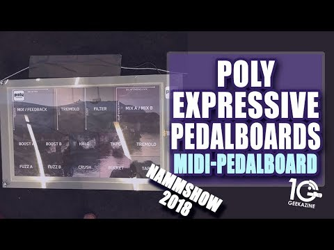 Poly Expressive MIDI Foot Control for Additional Control of your Sound