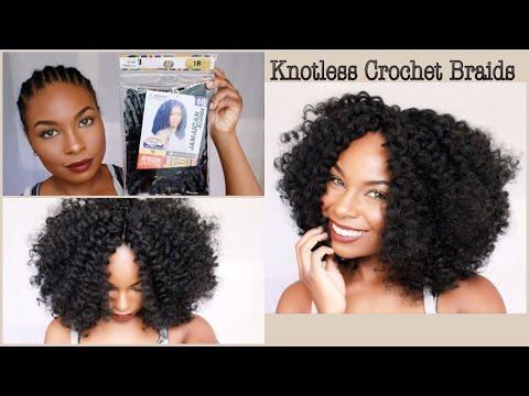 Quick & Simple Crochet Braids (Knotless Method)