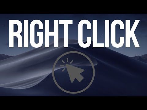 Right click on macOS Mojave   How to Secondary click with mouse & trackpad Mac 2019