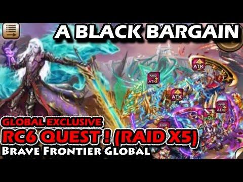Raid Battle RC6 Global Exclusive Quest VS Kielazar (Brave Frontier Global)