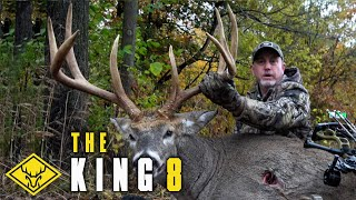 The KING 8   GIANT Buck is CALLED in to 20 yards!