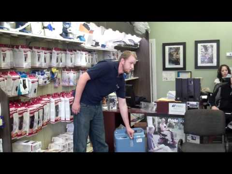 What makes an oxygen concentrator beep?