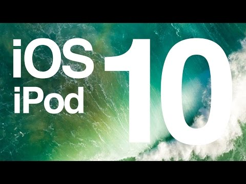 How to update to IOS 10 - iPod touch