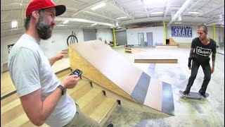 SCARIEST SKATE RAMP EVER! / You Have To Skate It!