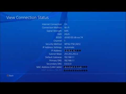 How to find your Ps4's IP address