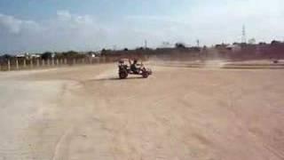 Cavalo De Pau No Kartcross