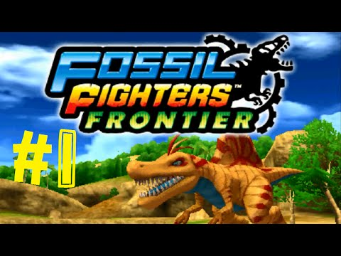 Fossil Fighters: Frontier Nintendo 3DS First Look Intro Walkthrough/Gameplay Part 1 English!