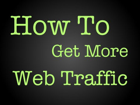 How To Get Traffic To Your Website Fast Free & Easy!